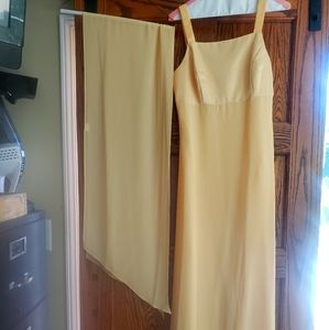 Beautiful Yellow Gown, Similar to Kate Hudson's!